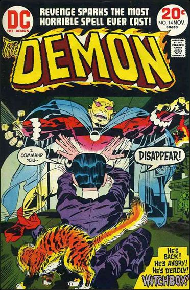 Demon (1972) 14-A by DC