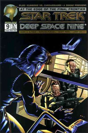 Star Trek: Deep Space Nine (1993) 9-A by Malibu