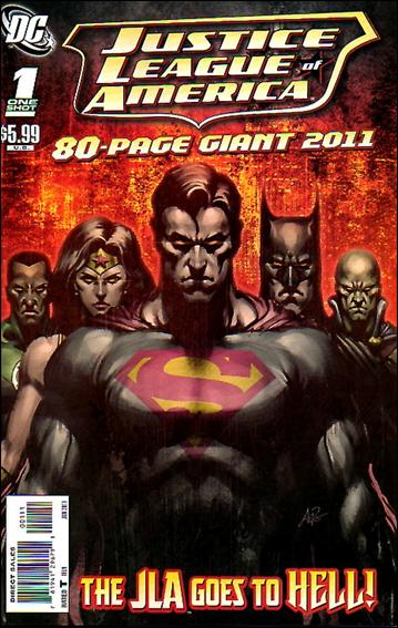 JLA 80-Page Giant 2011 1-A by DC