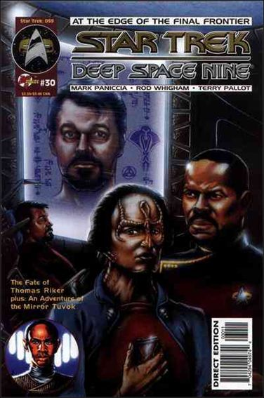 Star Trek: Deep Space Nine (1993) 30-A by Malibu
