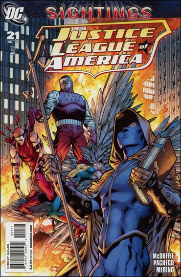Justice League of America (2006) 21-A by DC