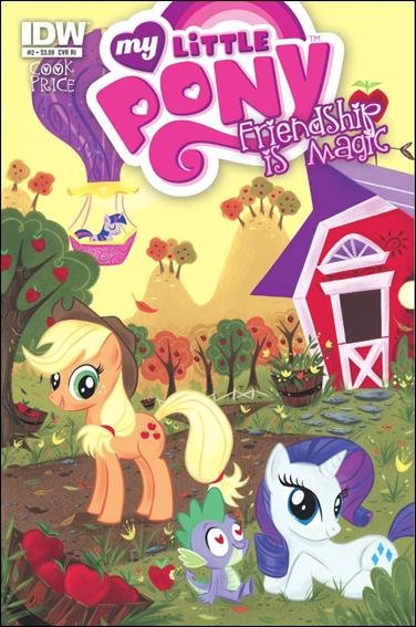 My Little Pony: Friendship is Magic 2-D by IDW