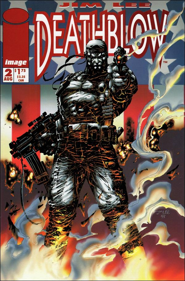 Deathblow (1993) 2-A by Image