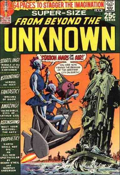 From Beyond the Unknown 8-A by DC