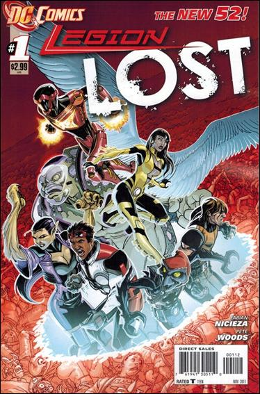 Legion Lost (2011) 1-B by DC