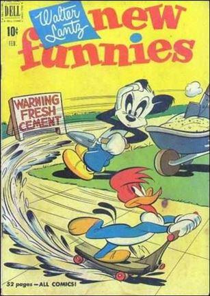 Walter Lantz New Funnies 168-A