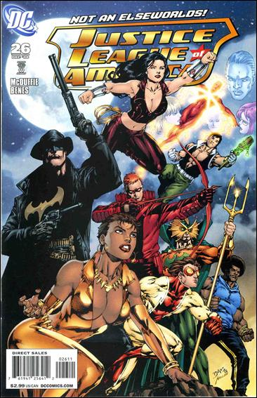 Justice League of America (2006) 26-A by DC