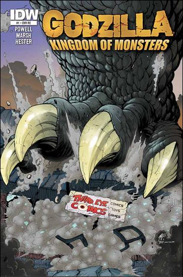 Godzilla: Kingdom of Monsters 1-OP by IDW
