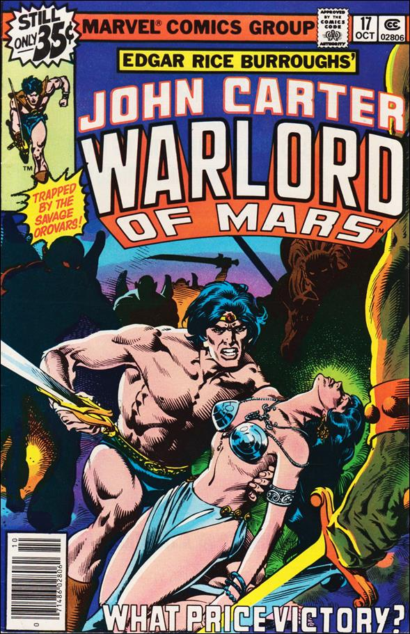 John Carter, Warlord of Mars 17-A by Marvel