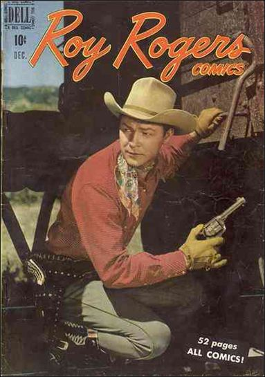 Roy Rogers Comics 24-A by Dell