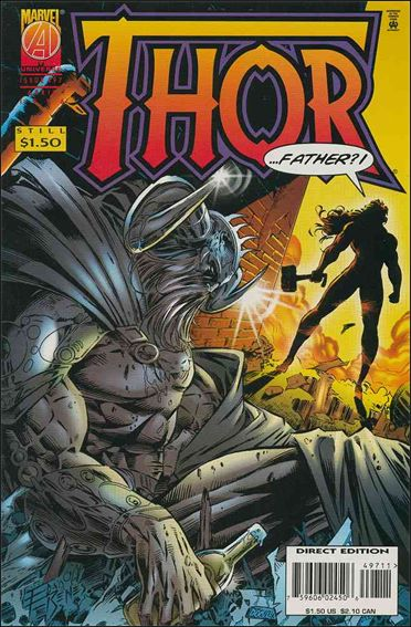 Thor (1966) 497-A by Marvel