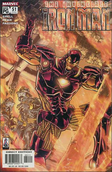 Iron Man (1998) 51-A by Marvel