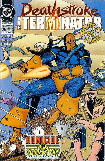 Deathstroke, the Terminator 29-A by DC