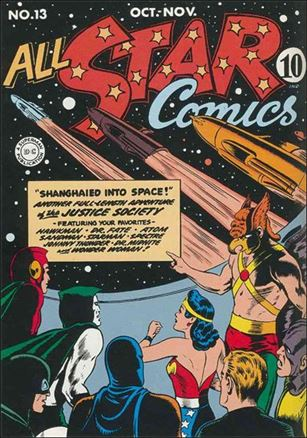 All Star Comics (1940) 13-A