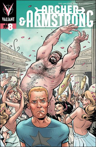 Archer & Armstrong (2012) 8-B by Valiant Entertainment