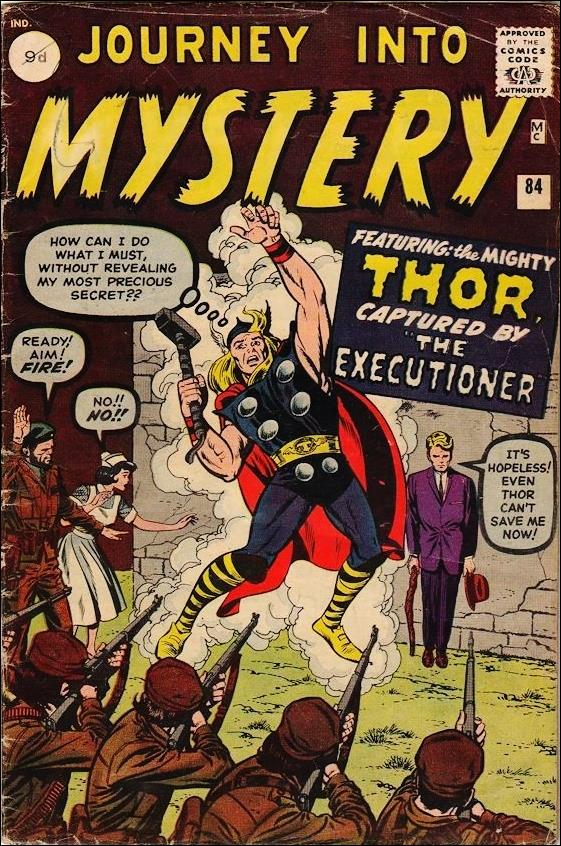 Journey into Mystery (1952) 84-B by Marvel