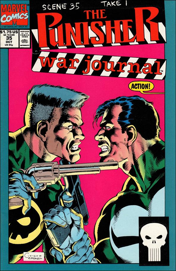 Punisher War Journal (1988) 35-A by Marvel