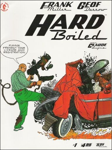 Hard Boiled 1-A by Dark Horse