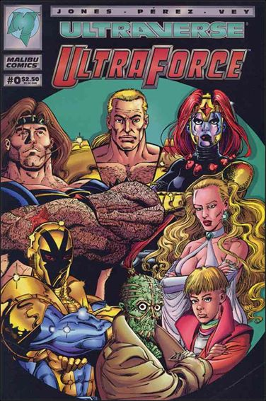 UltraForce (1994) 0-A by Malibu