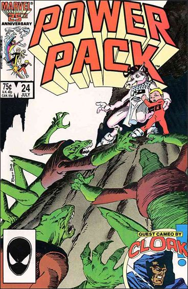 Power Pack (1984) 24-A by Marvel