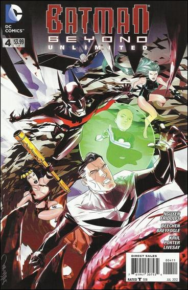 Batman Beyond Unlimited 4-A by DC
