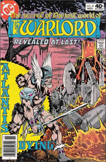 Warlord (1976) 27-A by DC