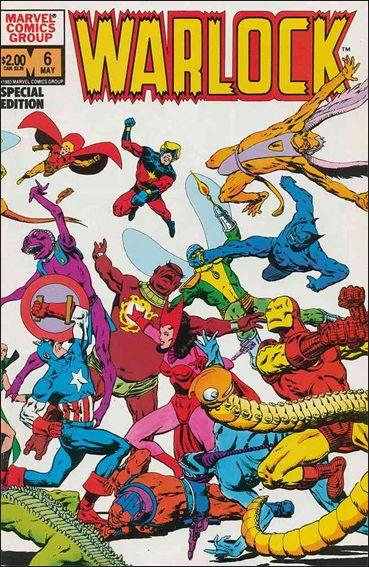 Warlock (1982) 6-A by Marvel