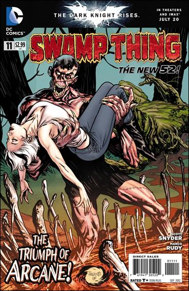 Swamp Thing (2011) 11-A by DC