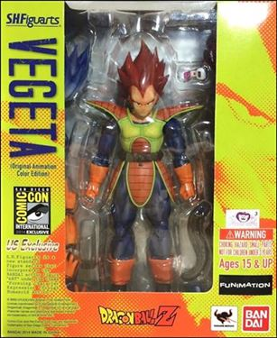 Dragon Ball Z (S.H.Figuarts) Vegeta (Original Animation Color Edition)