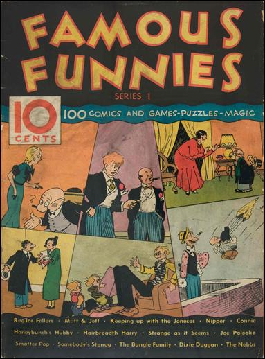 Famous Funnies (1934/01) 1-A by Eastern Color
