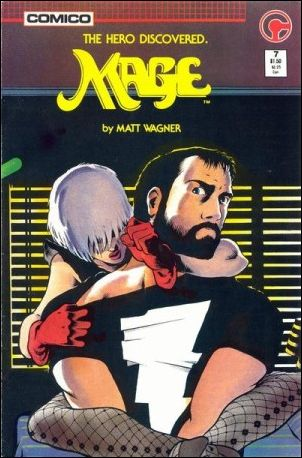 Mage: The Hero Discovered 7-A by Comico