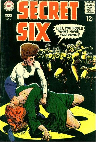 Secret Six (1968) 6-A by DC