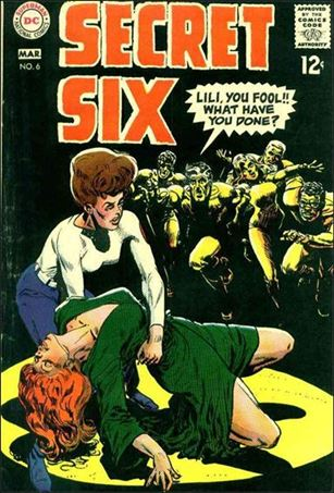 Secret Six (1968) 6-A