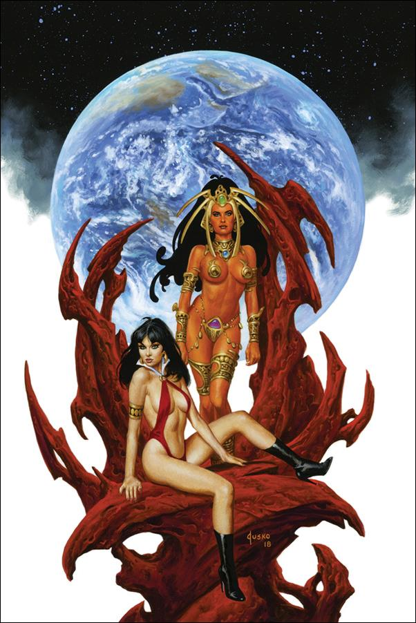 Vampirella / Dejah Thoris 5-G by Dynamite Entertainment