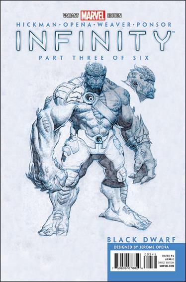 Infinity 3-C by Marvel
