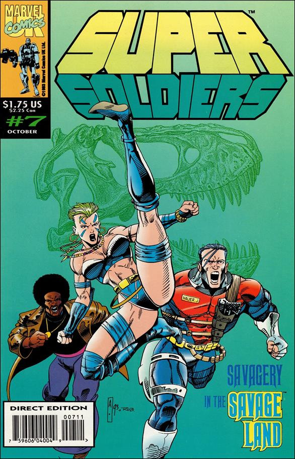Supersoldiers (UK) 7-A by Marvel UK