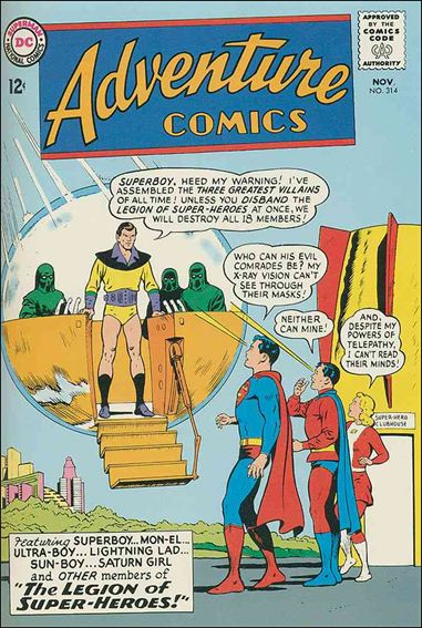 Adventure Comics (1938) 314-A by DC