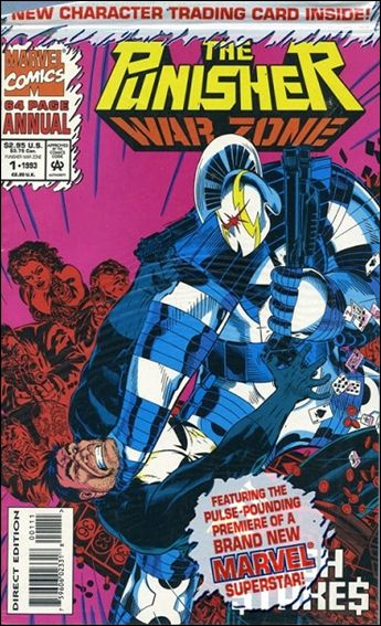 Punisher: War Zone Annual 1-A by Marvel