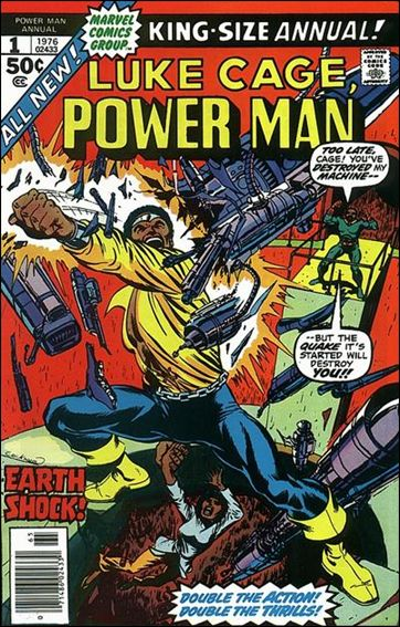 Power Man Annual 1-A by Marvel