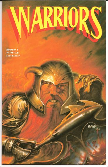 Warriors (1987) 1-A by Adventure