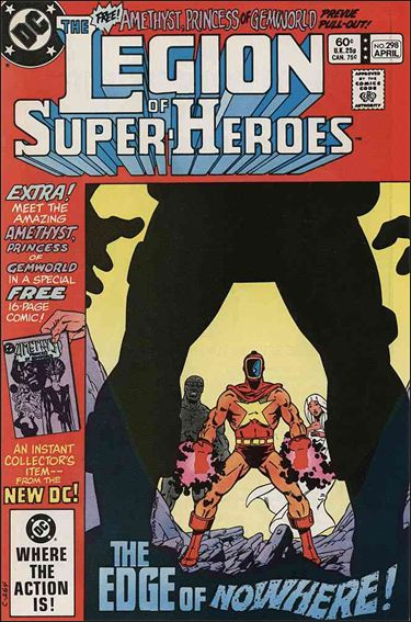 Legion of Super-Heroes (1980) 298-A by DC