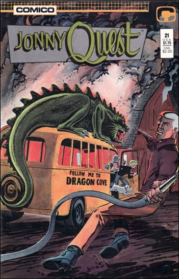 Jonny Quest (1986) 21-A by Comico