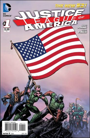 Justice League of America (2013)  1-A by DC
