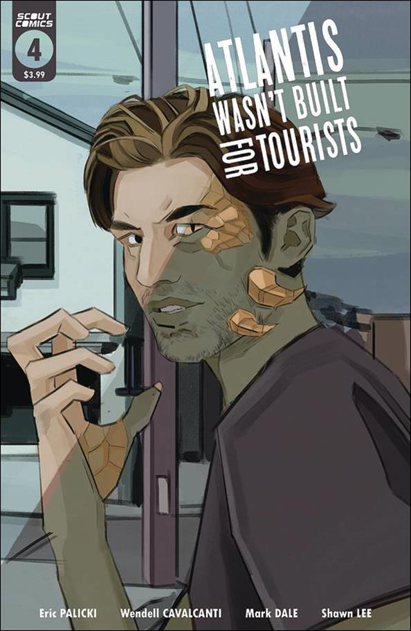 Atlantis Wasn't Built for Tourists 4-A by Scout Comics