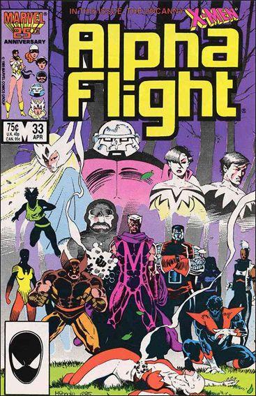 Alpha Flight (1983) 33-A by Marvel