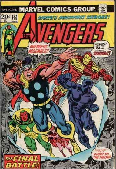 Avengers (1963) 122-A by Marvel
