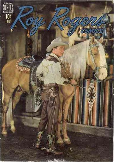Roy Rogers Comics 13-A by Dell