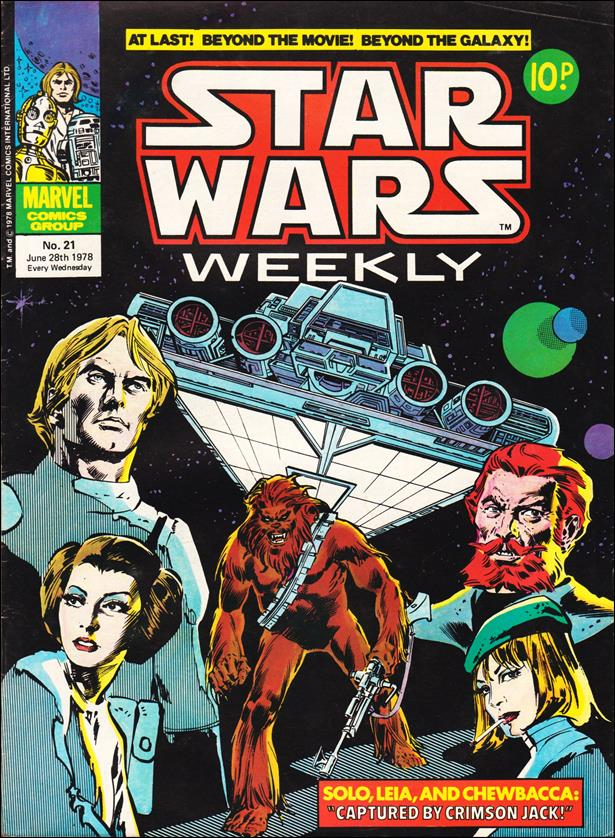 Star Wars Weekly (UK) 21-A by Marvel UK
