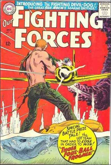Our Fighting Forces (1954) 95-A by DC