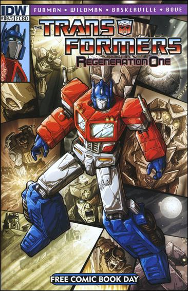 Transformers: Regeneration One 80.5-A by IDW
